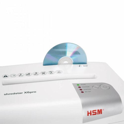 Уничтожитель документов HSM shredstar X6 pro (2x15)