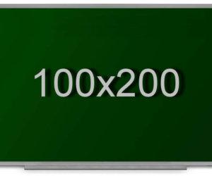 Доска для мела в алюминиевой раме (100х200см)